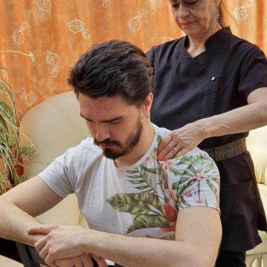Back and Shoulder Massage
